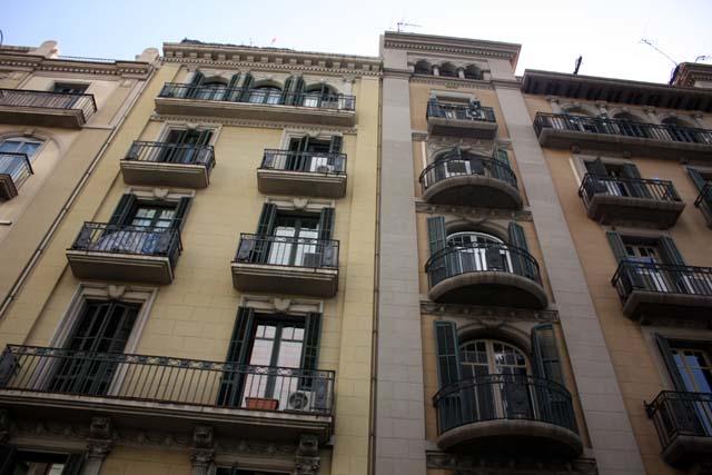 Барселона балконы