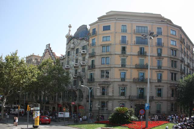Барселона Дом Бальо вид снаружи