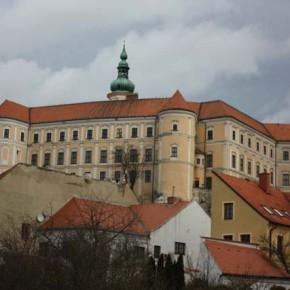 Микулов: городок и замок