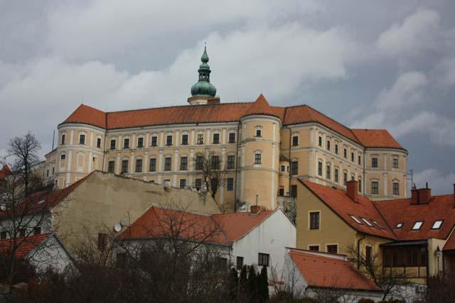Микулов замок Дитрихштейнов общий вид