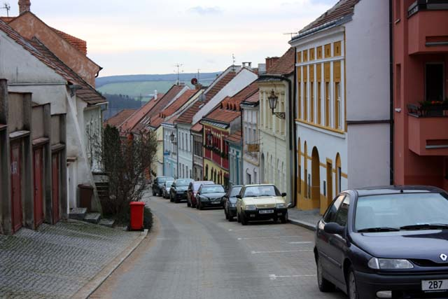 Микулов улица города