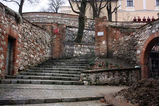 Микулов лестница к замку