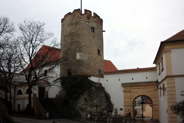 Микулов башня замка Дитрихштейнов