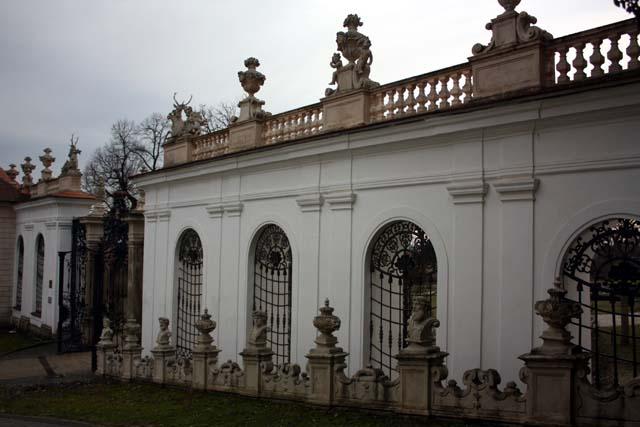 Микулов парк замка