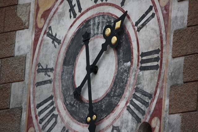 Микулов часы на башне