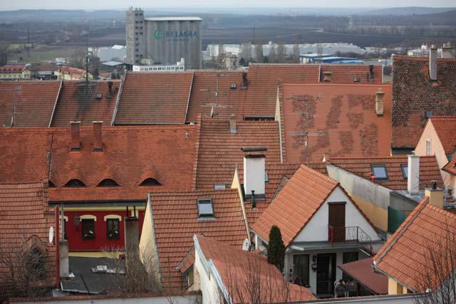 Микулов крыши