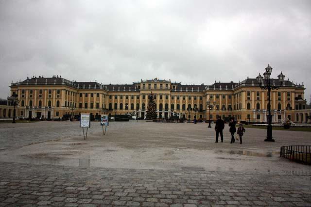 Шёнбрунн дворец фасад