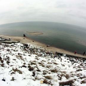 Балтийское море — фото в зимнем Зеленоградске