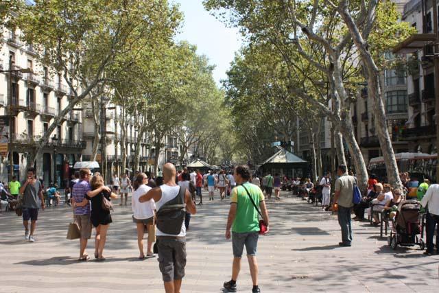 Барселона Рамбла la Rambla