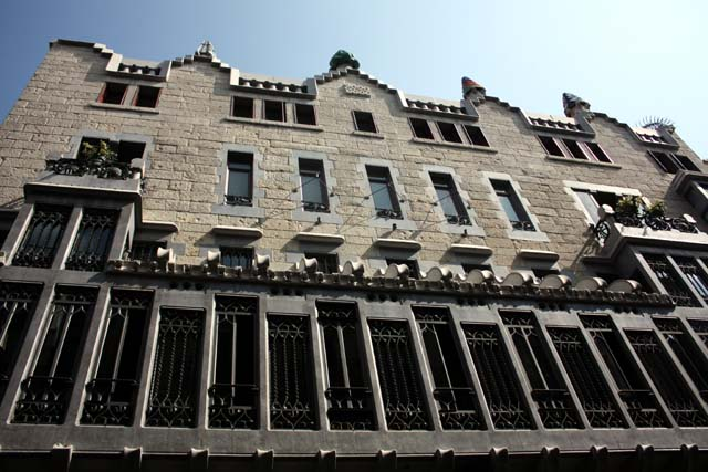 Барселона дворец Гуэля