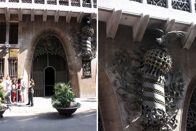 Дворец Гуэля вход
