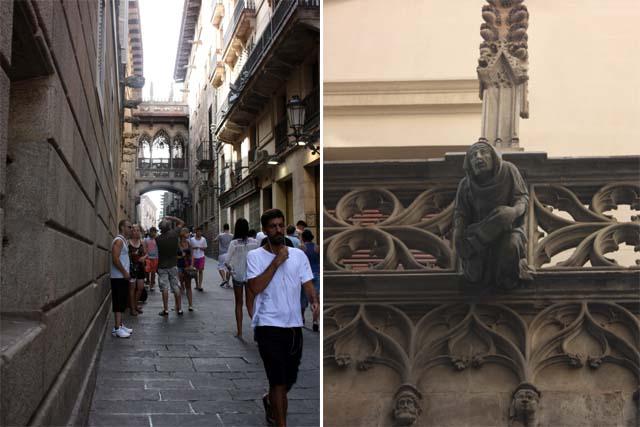 Барселона готический квартал