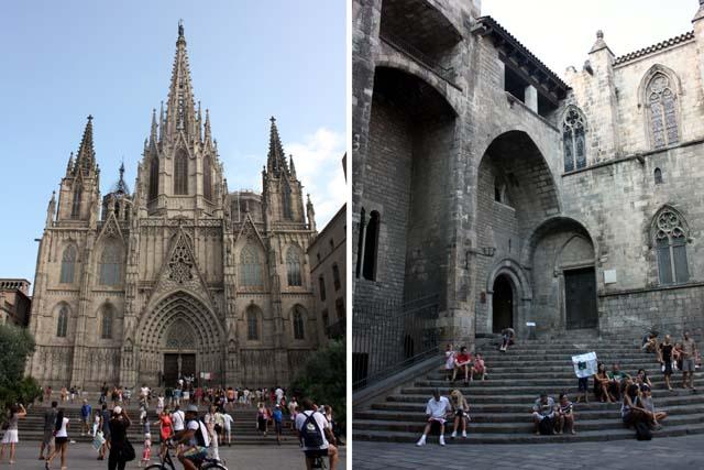 Барселона кафедральный собор