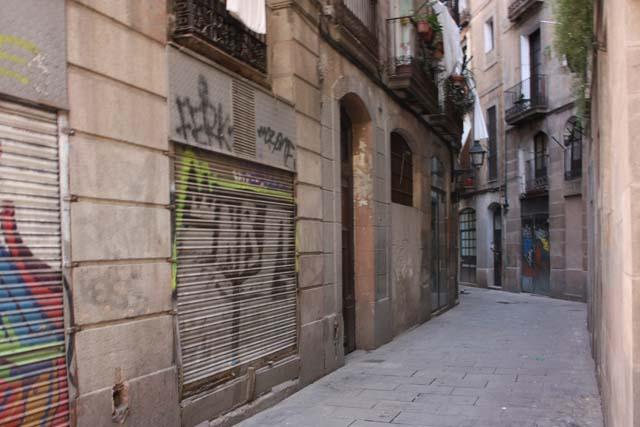 Барселона готический квартал улицы