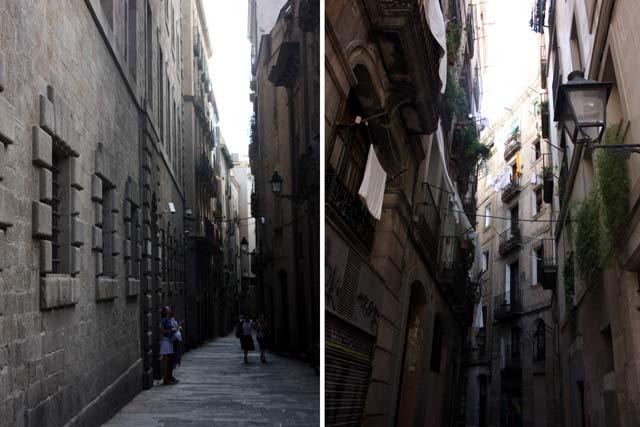 Барселона готический квартал дома