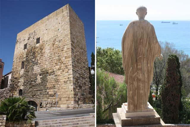 Таррагона башня Пилата статуя Августа