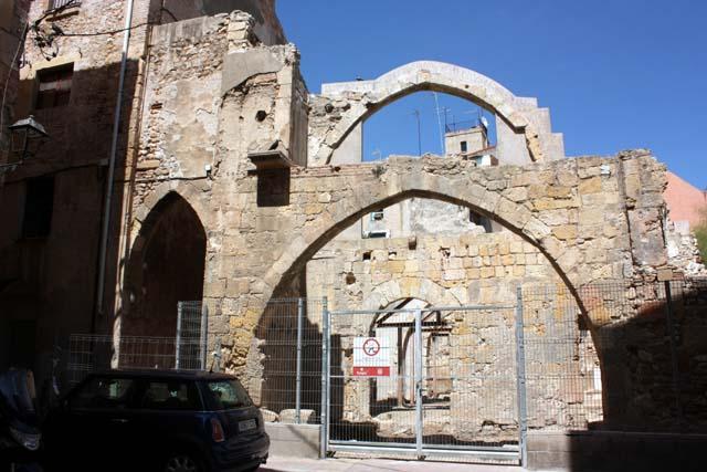 Таррагона руины синагоги