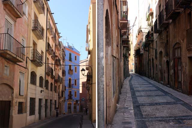 Таррагона узкие улицы