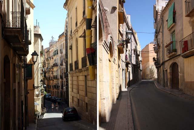 Таррагона улицы города
