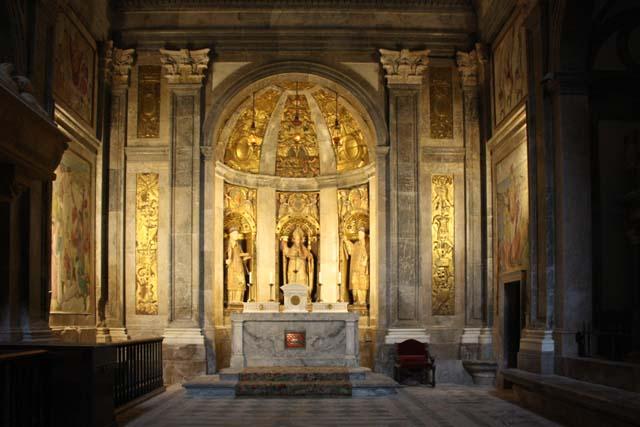 Таррагона кафедральный собор алтарь