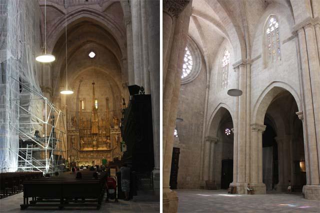 Таррагона собор внутреннее убранство