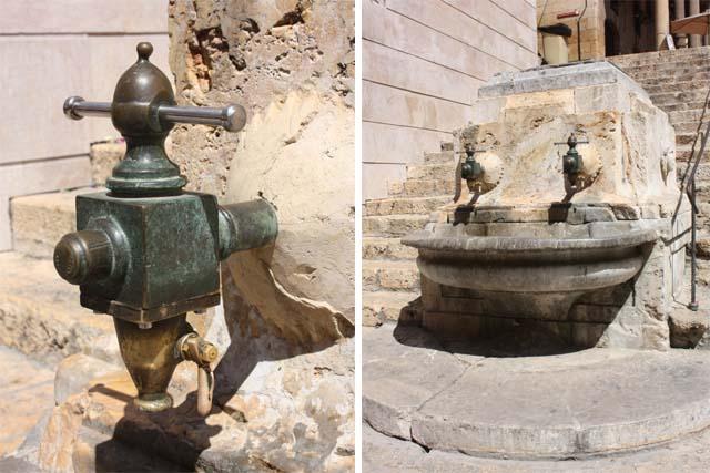 Таррагона питьевой фонтан