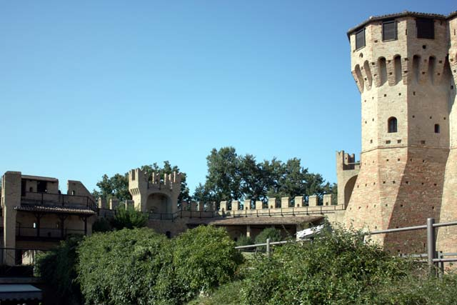Градара вид крепости