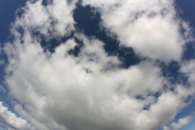 фото небо облака