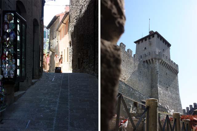Сан-Марино крепость Гуаита город