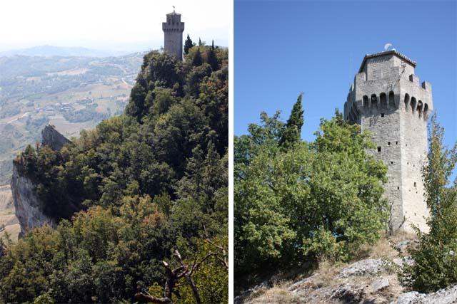Сан-Марино крепость Монтале