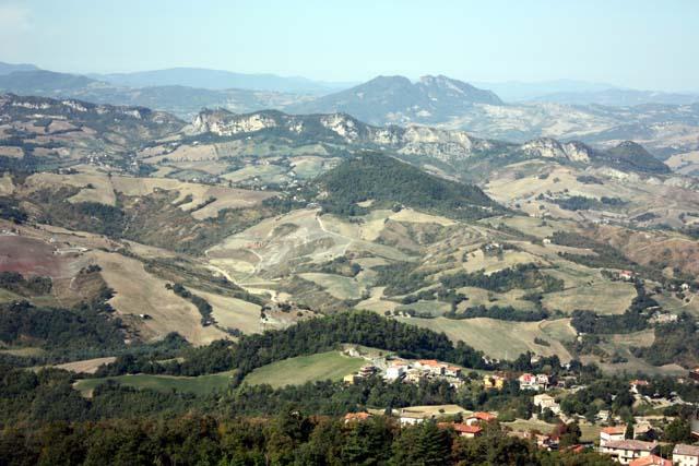 Сан-Марино вид с гор