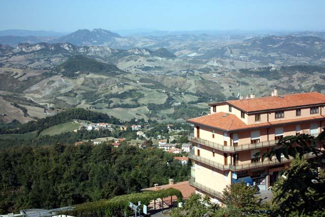 Сан-Марино панорама с горы