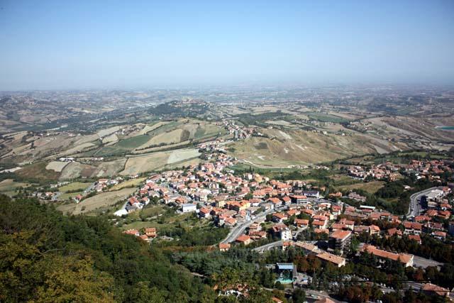 Сан-Марино панорама дома