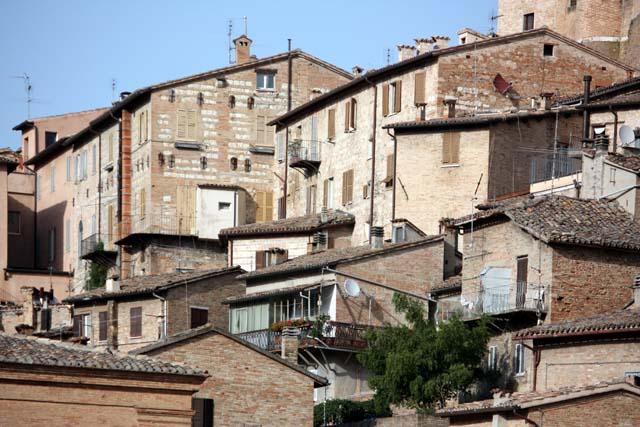 Урбино крыши домов