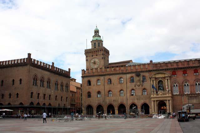 Болонья Пьяцца Маджоре Palazzo Comunale