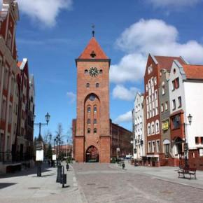 Эльблонг — прогулка по городу