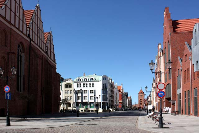 Эльблонг старый город центр
