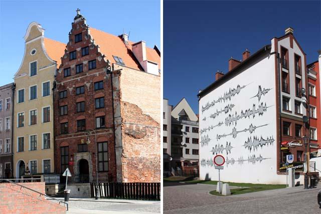 Эльблонг здания и рисунки