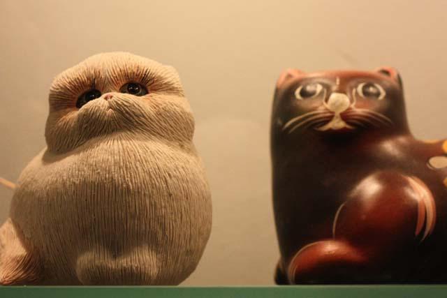 кошки музей Murarium