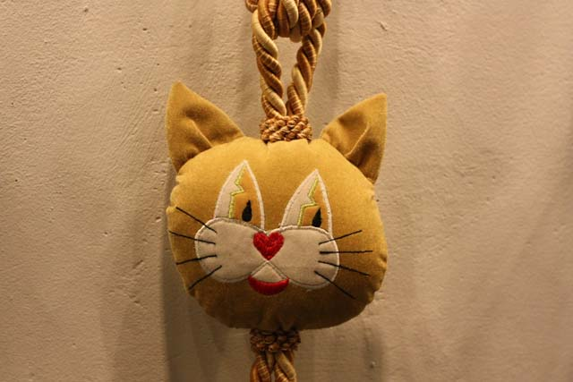 тряпичный кот