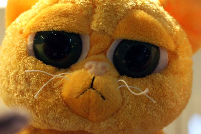 кот мягкая игрушка