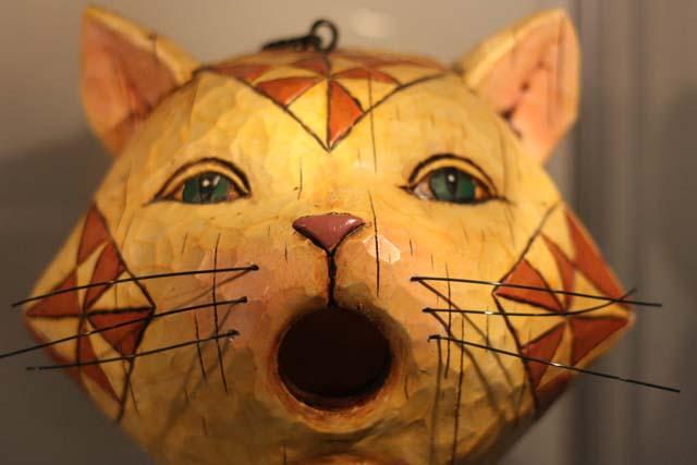 кот-скворечник