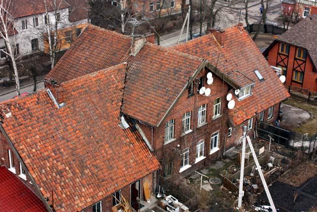 зеленоградск дом черепичная крыша