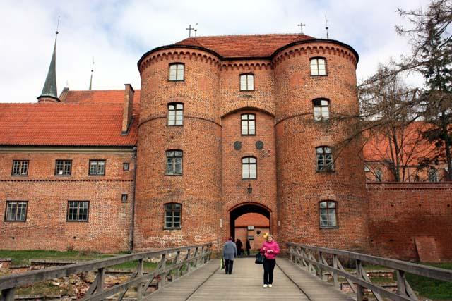 Фромборк вход в замок