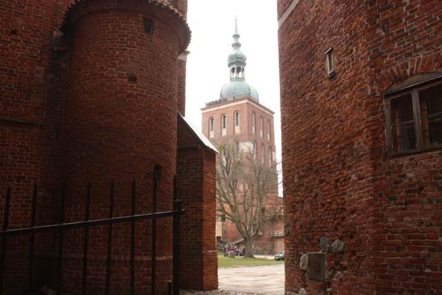 Фромборк вид на башню