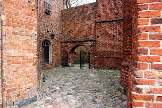 Замок Фромборка - средневековые закоулки