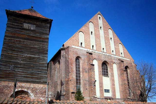 Костел св. Николая во Фромборке - фасад
