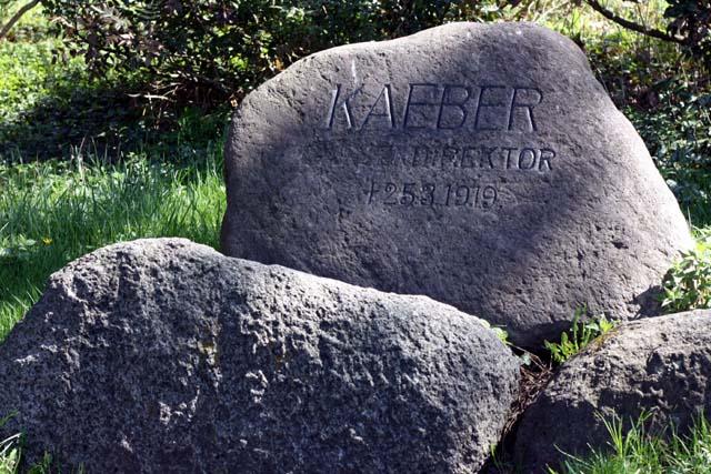Пауль Кебер памятник