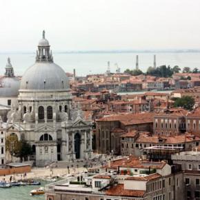 Венеция — панорама с колокольни собора Святого Марка