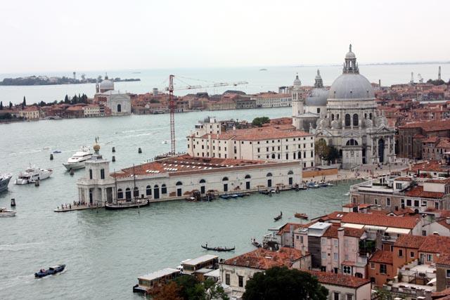 красивый вид Венеции сверху
